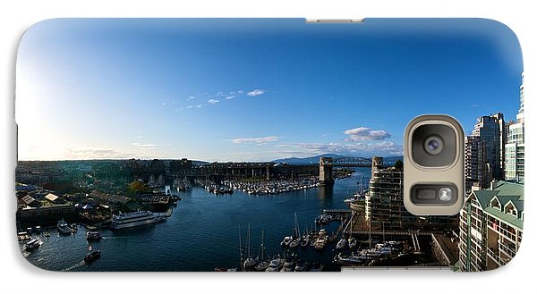 Galaxy Case featuring the photograph Grandville Island In Yaletown Bc by JM Photography