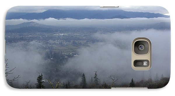 Galaxy Case featuring the photograph Grants Pass Weather by Mick Anderson