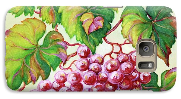 Galaxy Case featuring the painting Grape Study 2 by Inese Poga