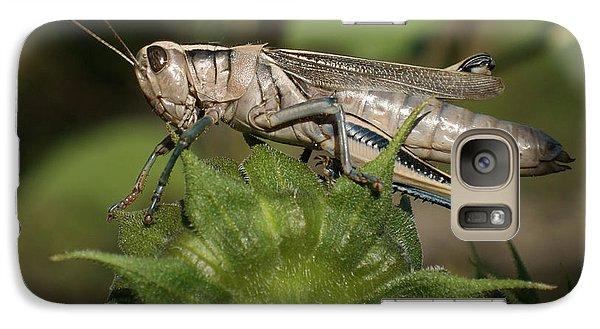 Grasshopper Galaxy S7 Case by Ernie Echols