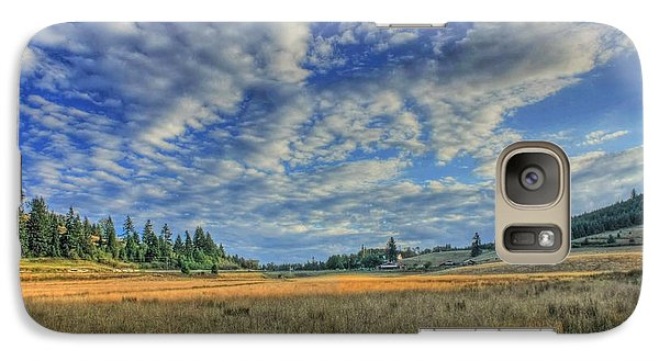 Galaxy Case featuring the photograph Grassy Field by Tyra  OBryant