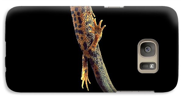 Great Crested Newt Galaxy Case by Andy Harmer