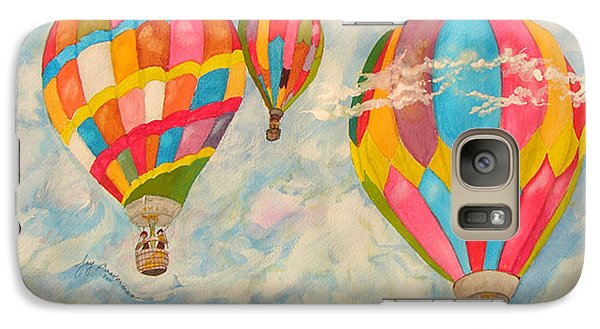 Galaxy Case featuring the painting Great Day To Fly by Joy Braverman