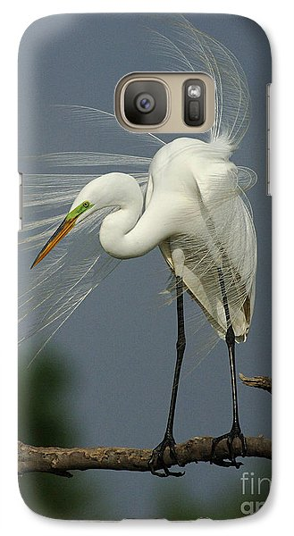 Great Egret Galaxy S7 Case