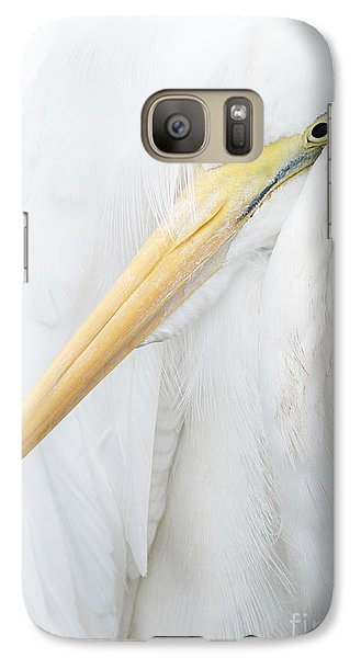 Galaxy Case featuring the photograph Great Egret by Doug Herr