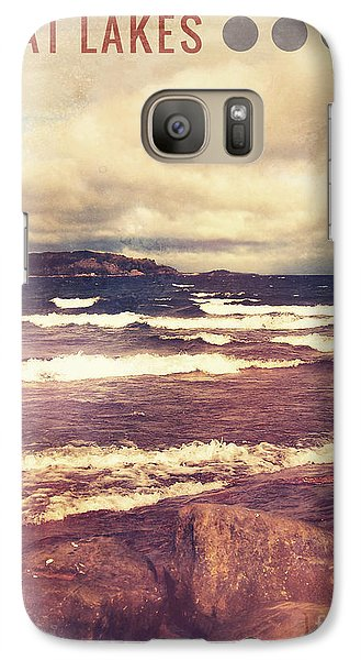 Galaxy Case featuring the photograph Great Lakes by Phil Perkins