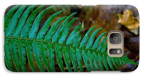 Galaxy Case featuring the photograph Green Fern by Tikvah's Hope