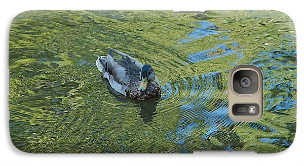 Galaxy Case featuring the photograph Green Pool by Joseph Yarbrough