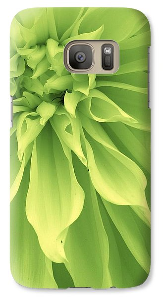Galaxy Case featuring the photograph Green Sherbet by Bruce Bley