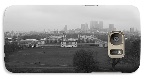 Galaxy Case featuring the photograph Greenwich View by Maj Seda
