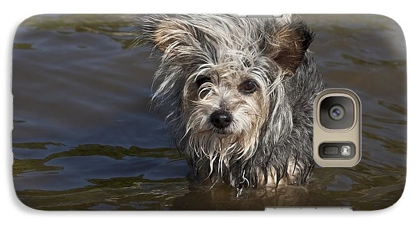 Galaxy Case featuring the photograph Gremlin by Jeannette Hunt