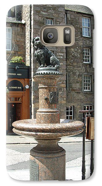 Galaxy Case featuring the sculpture Greyfriars Bobby by Richard James Digance