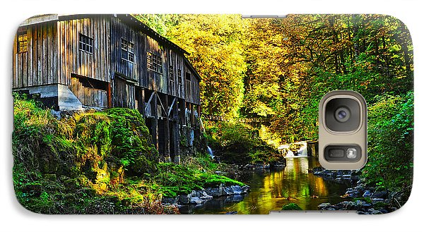 Galaxy Case featuring the photograph Grist Mill by Jim Boardman