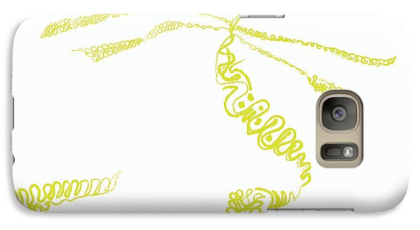 Galaxy Case featuring the digital art Ground Frond by Kevin McLaughlin