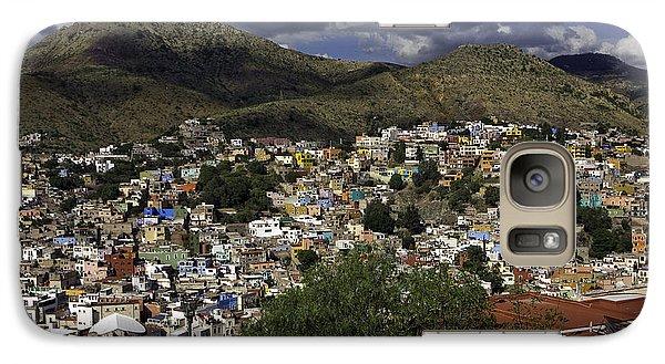 Galaxy Case featuring the photograph Guanajuato Vista No. 1 by Lynn Palmer
