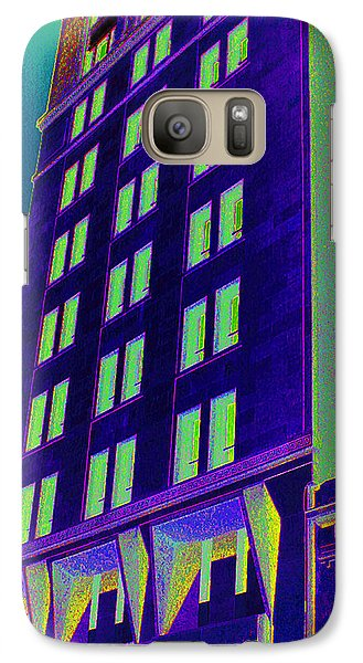 Galaxy Case featuring the photograph Guaranty Bank Building by Louis Nugent