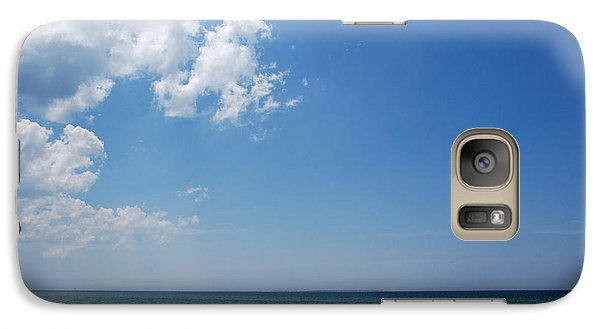 Galaxy Case featuring the photograph Gulf Sky by Kay Lovingood