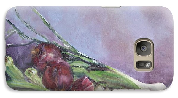 Galaxy Case featuring the painting Gumbo  by Carol Berning