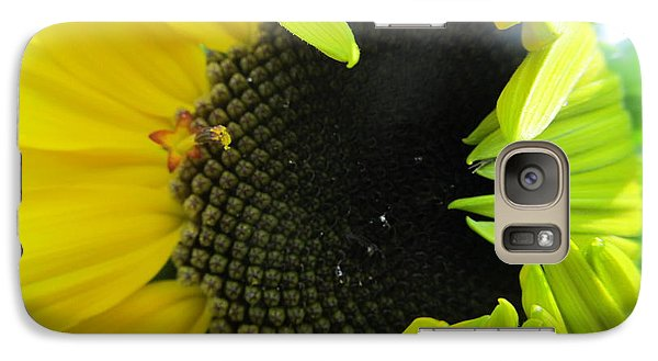 Galaxy Case featuring the photograph Half-bloom Beauty by Tina M Wenger