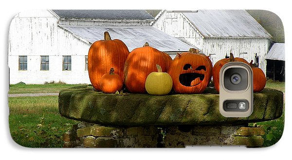 Galaxy Case featuring the photograph Halloween Scene by Lainie Wrightson