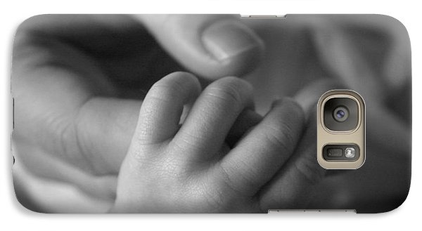 Galaxy Case featuring the photograph Hands by Kelly Hazel