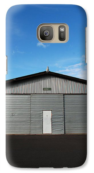 Galaxy Case featuring the photograph Hangar 2 by Kathleen Grace