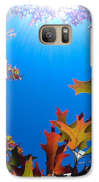 Galaxy Case featuring the photograph Happy Autumn by CML Brown