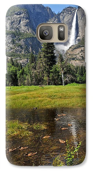 Galaxy Case featuring the photograph Happy Campers by Lynn Bauer