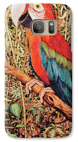 Galaxy Case featuring the painting Happy Is But A Mask by Charles Munn