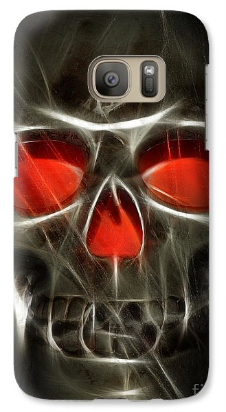 Galaxy Case featuring the photograph Happy Halloween by Raymond Earley