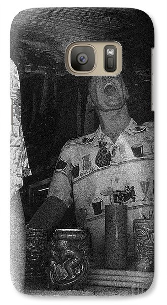 Galaxy Case featuring the photograph That Was A Good One by Beth Saffer
