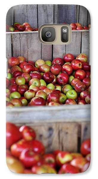 Galaxy Case featuring the photograph Harvest Time by Linda Mishler