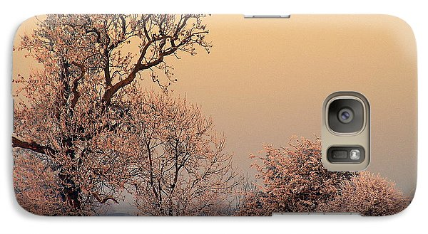 Galaxy Case featuring the photograph Frost 2 by Linsey Williams