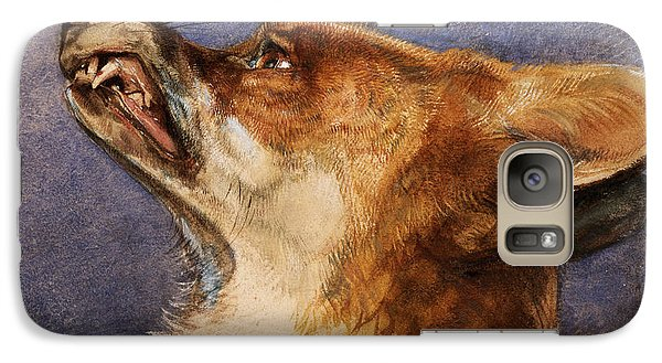 Head Of A Fox Galaxy S7 Case