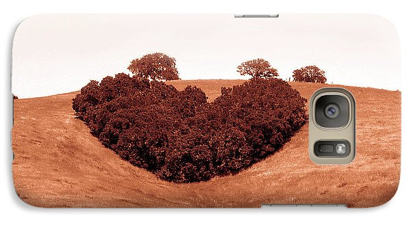 Galaxy Case featuring the photograph Heart  by Michael Rock