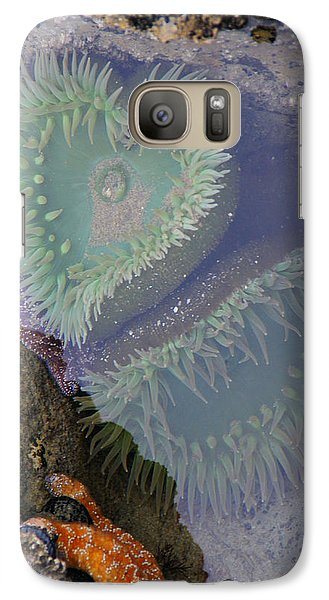 Galaxy Case featuring the photograph Heart Of The Tide Pool by Mick Anderson