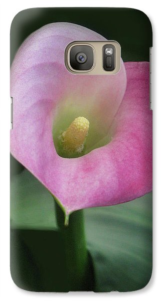 Galaxy Case featuring the photograph Heart On Sleeve by Tammy Espino