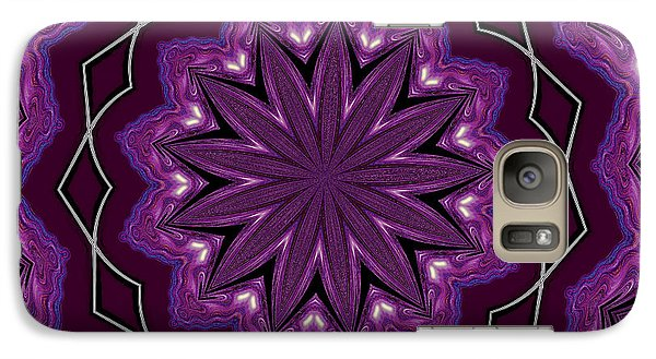 Galaxy Case featuring the digital art Heather And Lace by Alec Drake