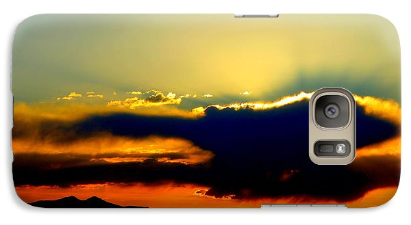 Galaxy Case featuring the photograph Heaven Is Watching by Jeanette C Landstrom