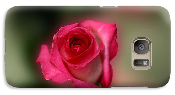 Galaxy Case featuring the photograph Heavenly Rose by Michael Waters