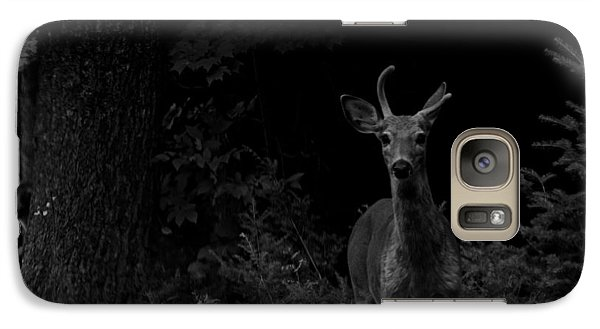 Galaxy Case featuring the photograph Hello Deer by Cheryl Baxter