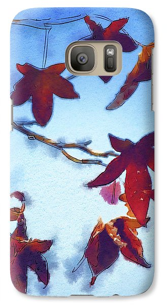 Galaxy Case featuring the digital art Here Today by Holly Ethan