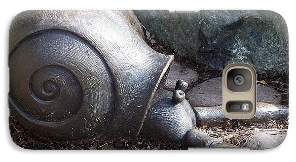 Galaxy Case featuring the photograph Hermit Crab by Chalet Roome-Rigdon