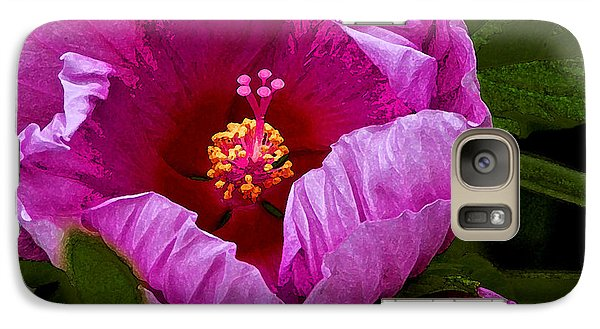 Galaxy Case featuring the photograph Hibiscus II by Michael Friedman