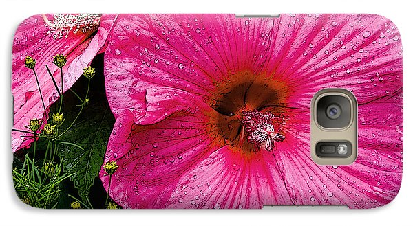 Galaxy Case featuring the photograph Hibiscus by Michael Friedman