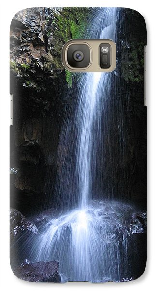Galaxy Case featuring the photograph Hidden Beauty by Cheryl Perin