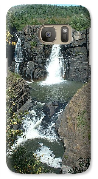 Galaxy Case featuring the photograph High Falls Grand Portage by Bonfire Photography
