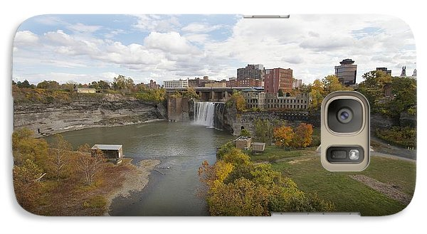 Galaxy Case featuring the photograph High Falls by William Norton