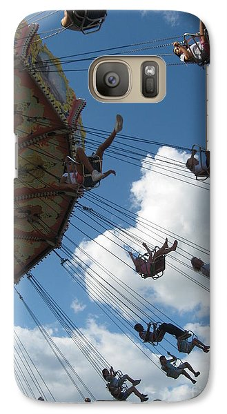 Galaxy Case featuring the photograph High In The Sky by Nancy Dole McGuigan