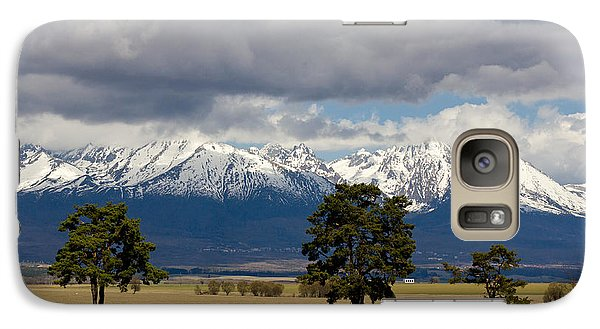 Galaxy Case featuring the photograph High Tatras - Vysoke Tatry by Les Palenik